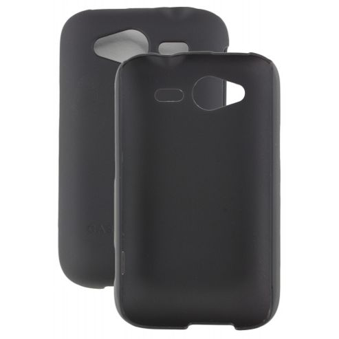 HTC Wildfire S - Barely There - Black Case