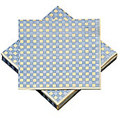 Hill Interiors Checked Paper Napkin