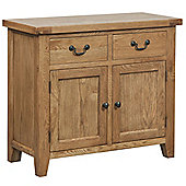 Tavistock Oak 2 Drawer Sideboard