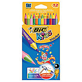 Bic Kids Evolution Circus Coloured Pencils 12 Pack