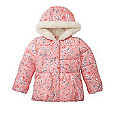 Mothercare Young Girl's Peplum Top Floral Coat Jacket Size 18-24 months