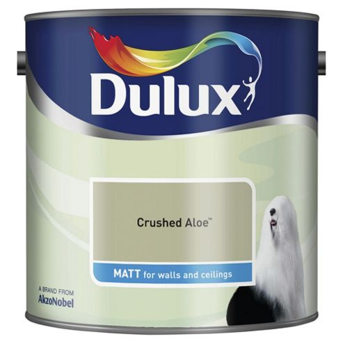 Dulux Matt Emulsion Paint, Crushed Aloe, 2.5L