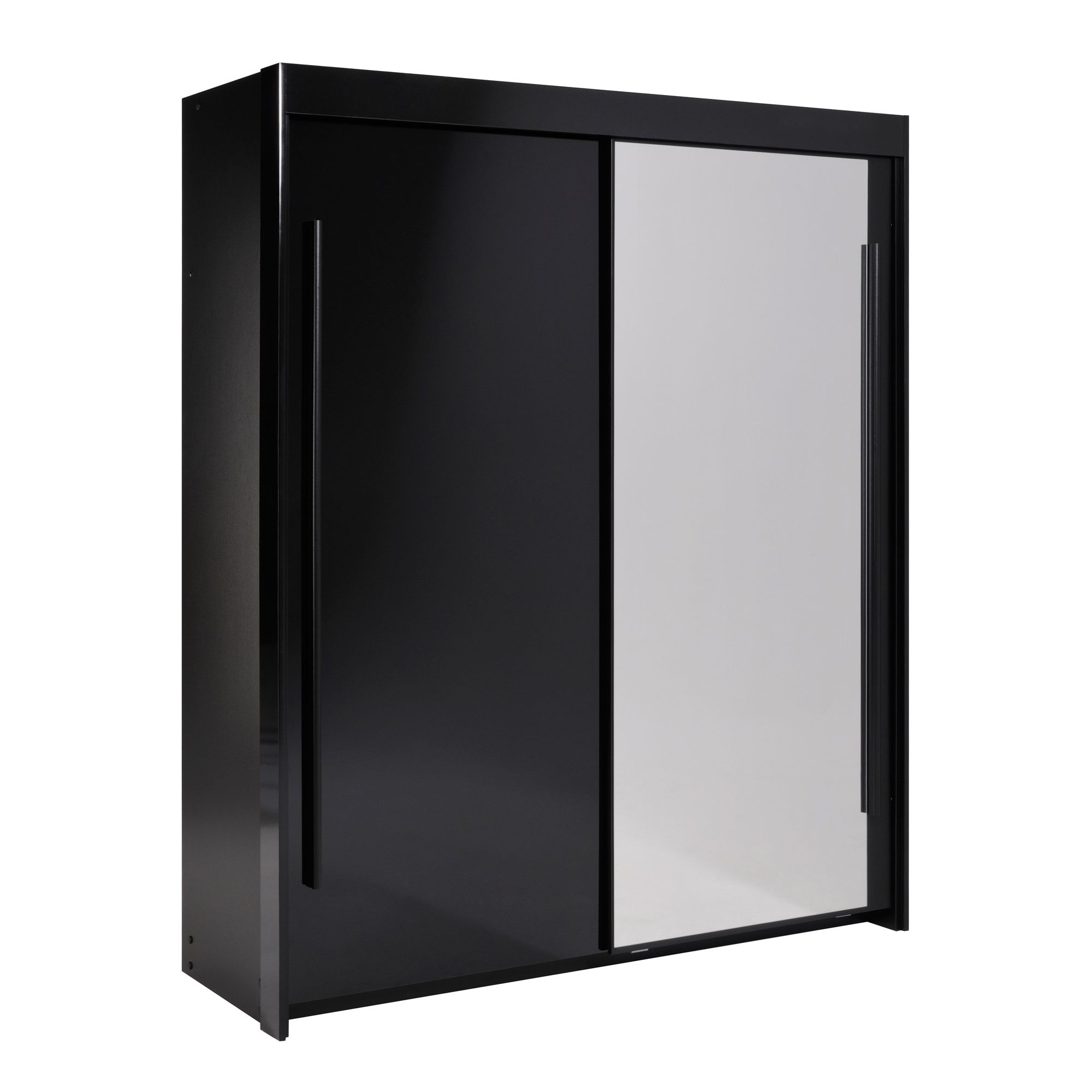 Parisot Dark Sliding Door Wardrobe at Tesco Direct