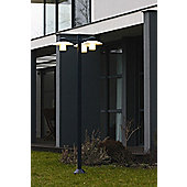 Roger Pradier Aubanne No.6 Post Lantern - Metal Grey