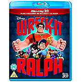 Wreck It Ralph 3D Blu-ray