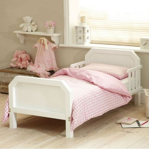 Saplings Apollo Junior Bed (White)