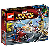 LEGO Super Heroes The Avengers Captain America Avenging Cycle 6865