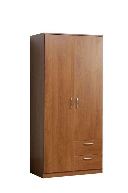 Ideal Furniture Nikko 2 Door 2 Drawer Wardrobe