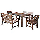 Somerset Table, Bench & Chair Set