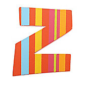 Tatiri TA326 Spots and Stripes Wooden Letter Z