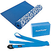 Tunturi Fitness Yoga Set - Mat, Block, Strap
