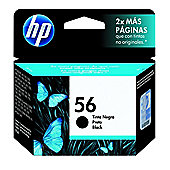 HP No.56 Black Inkjet Print Cartridge (C6656AE)W