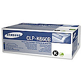 Samsung CLP-K660B toner cartridge - Black