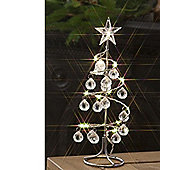 Noma Spiral Jewel Tree 15 Led Warm White 26Cm