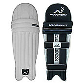 Woodworm Cricket Performance Junior Batting Pads - Boys Right Hand + Left Hand