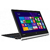 "Toshiba Portege Z20T 12.5"" Intel Core M5 Windows 8 Pro 4GB RAM 128GB SSD Tablet Black"