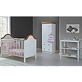 Obaby B is for Bear 3 Piece Furniture Set - White
