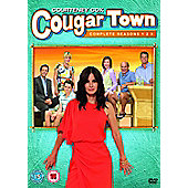 Cougar Town Season 1-3 DVD