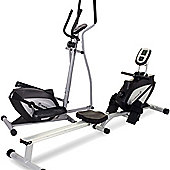 Marcy Cross Trainer and Rowing Machine Package