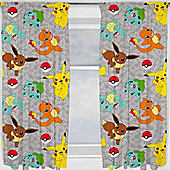 Pokemon Curtains 72s - Catch
