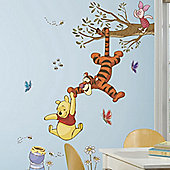 Disney Winnie The Pooh Swinging For Honey Giant Wall Stickers