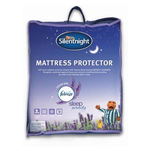 Silentnight Febreze Mattress Protector Double
