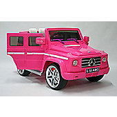 Kids Electric Car Mercedes Benz G55 12 Volt Pink