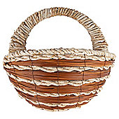 Dobbies Essentials Natural Wall Basket New Forest