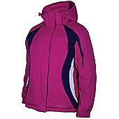 Sugar Girls Water Resistant Snowboarding Skiing Kids Warm WinterSki Jacket Coat - Pink