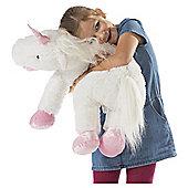 Giant Floppy Plush Unicorn