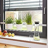 At Home Vega Herb and Plant Ladder - White