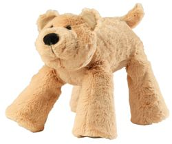 House of Paws Big Paws Bear Dog Toy in Tan