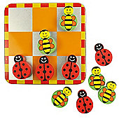 Bigjigs Toys Noughts and Crosses (Ladybird and Bee)