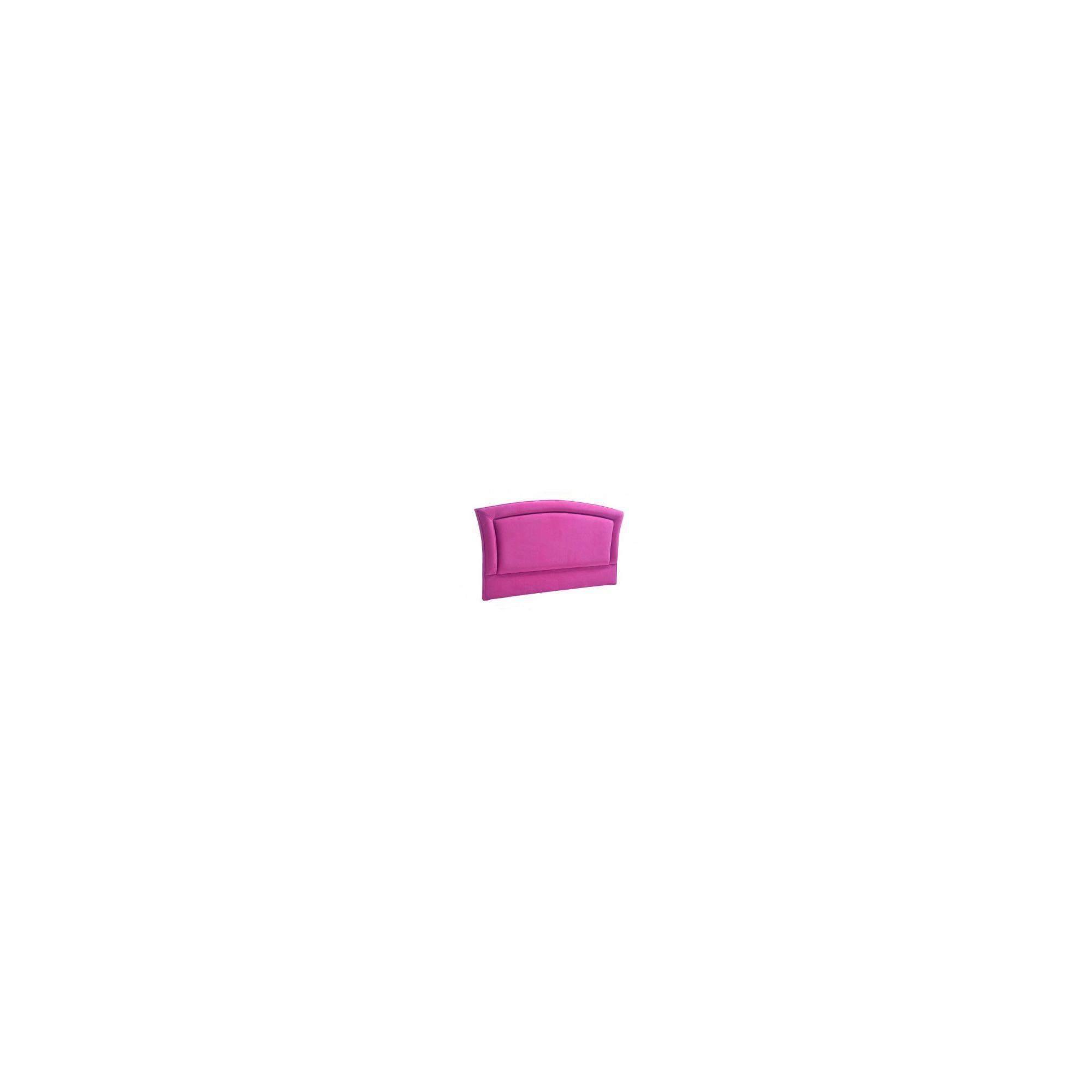 PC Upholstery Dublin Headboard - Cerise - 3' Single at Tescos Direct