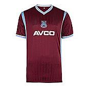 West Ham United 1988 Home Shirt - Claret & Sky blue