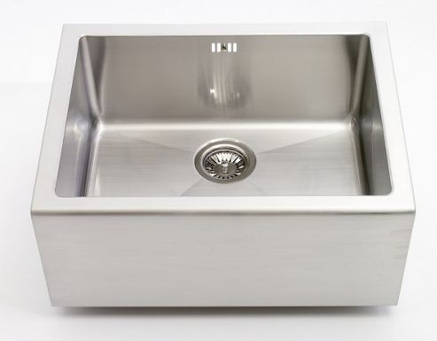 Astracast Belfast Single Bowl Sit On Sink in Brushed Steel
