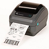 Zebra GK420d Direct Thermal Printer 203dpi 8 dot Print Width 104mm Serial, USB, ZPL, ZPL II + Power Supply with UK/European Cords