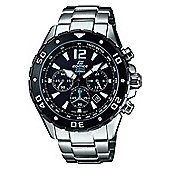Casio Edifice Mens Stainless Steel Chronograph Date Watch EFM-500SBD-1AVER