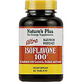 Natures Plus Ultra Isoflavone 100 W/Genistein Daidzein & Puerarin 60 Capsules