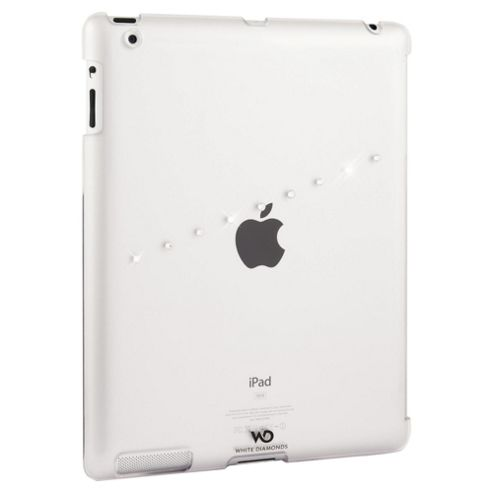 White Diamonds iPad Snap Case