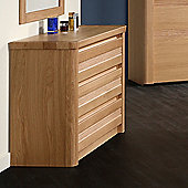 Sleepline Mundo Narrow 3 Drawer Chest - Mat Lacquered