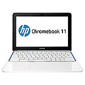 "HP 11-1126UK, 11.6"" Chromebook, Exynos Processor, 2GB RAM, 16GB - White"