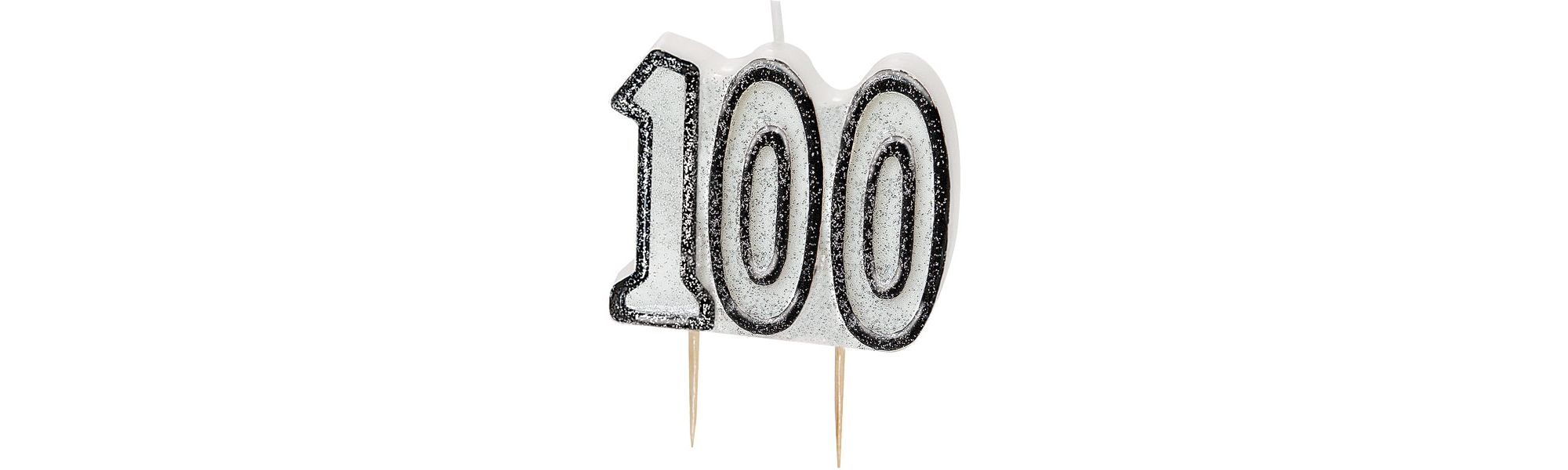 100th Birthday Candle