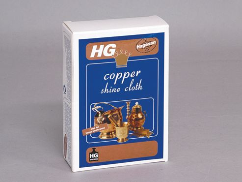 Hg Copper Shine Cloth