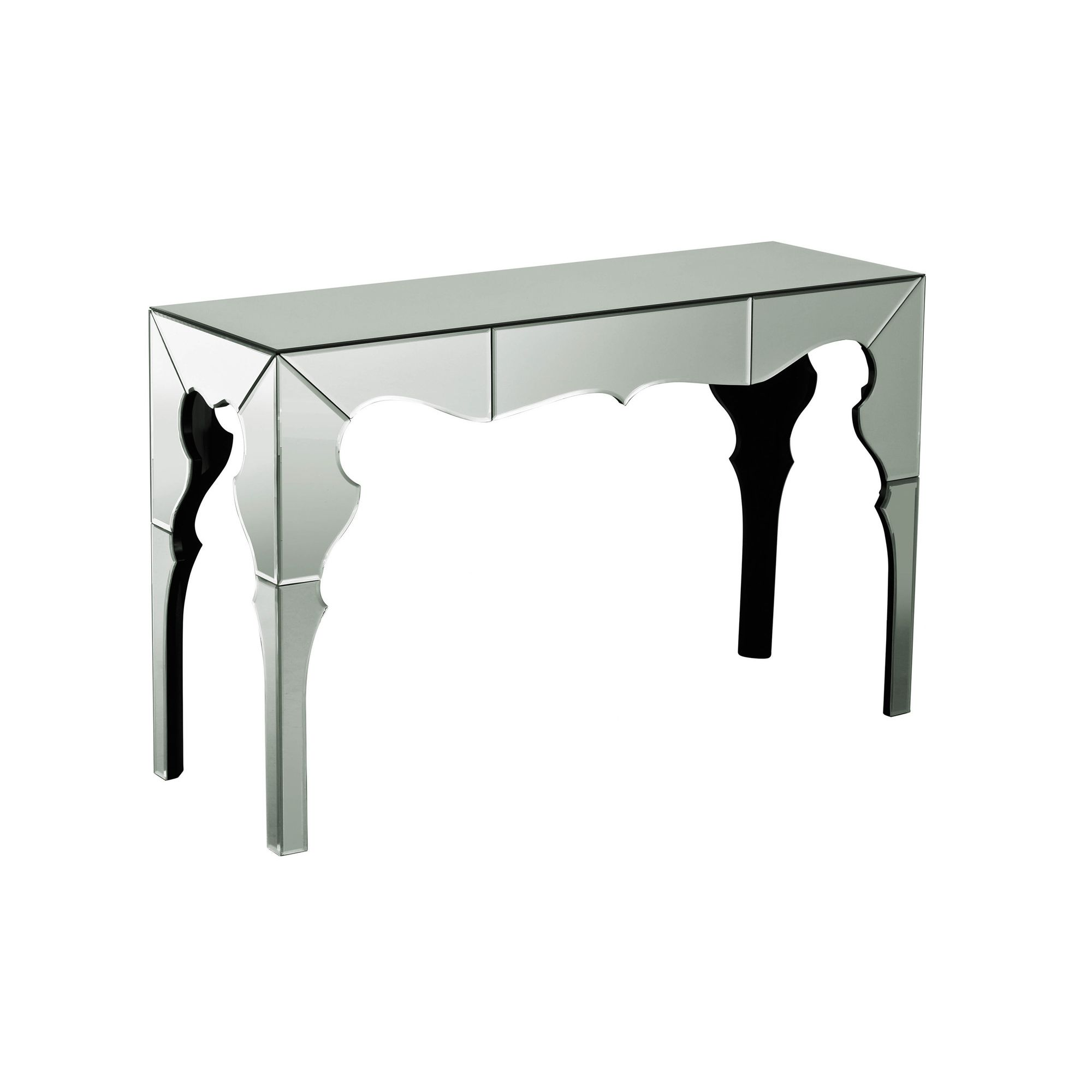 Premier Housewares Mirrored Console Table