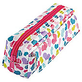 Tesco Heart Stamp Pencil Case