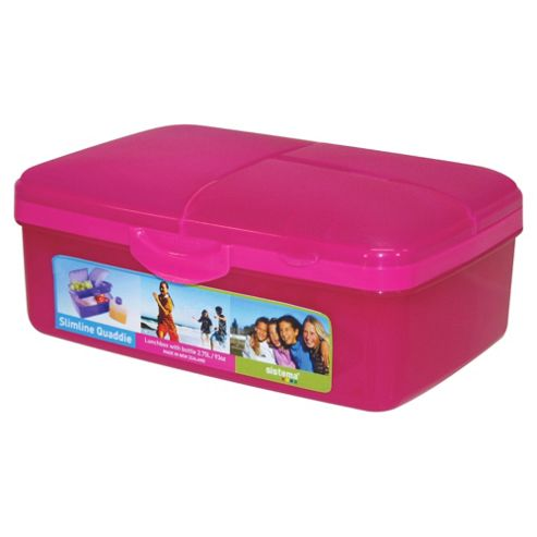 Sistema Quaddie Lunchbox, Pink
