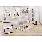 Tutti Bambini Marie 7 Piece Room Set - White