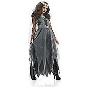 Black Corpse Dress - Adult Costume Size: 12-14