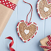Gingerbread Heart Decoration